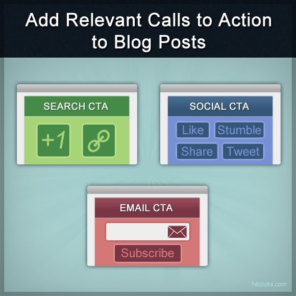 Add Relevant Calls to Action to Blog Posts